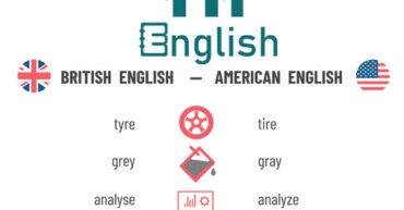 تفاوت انگلیسی امریکایی و انگلیسی بریتانیایی