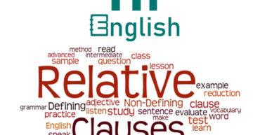 عبارات موصولی در زبان انگلیسی